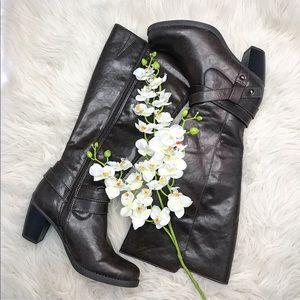 (NWOT) Natural Soul Carolina Cocoa Brown Boots